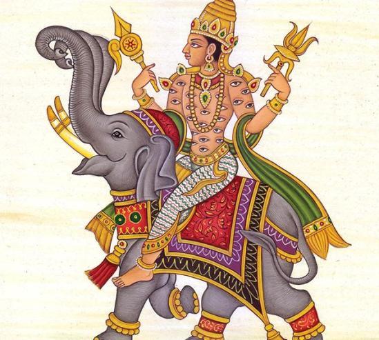 Iconography of the Vedic Deities | Red Zambala