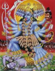 10 mahavidyas and kālī